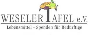 Weseler Tafel Logo